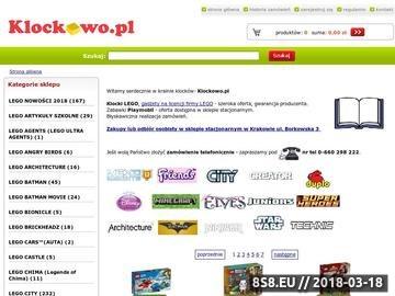 Zrzut strony Klockowo.pl - klocki Lego Star Wars, Duplo, City, MInifigurki, Hello Kityy