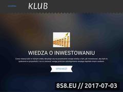 Miniaturka domeny klub-inwestorow.pl