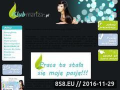 Miniaturka domeny www.klubmariza.pl