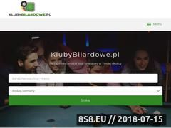 Miniaturka klubybilardowe.pl (Bilard Kraków)
