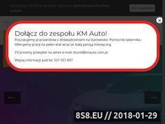 Miniaturka kmauto.com.pl (KM Auto - naprawy powypadkowe)