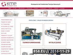 Miniaturka domeny www.kmpplastics.com.pl