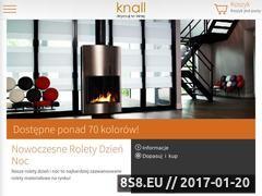 Miniaturka Rolety, markizy, żaluzje, moskitiery i plisy (www.knall.com.pl)