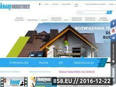 Miniaturka Producent rozwiązań z tworzyw sztucznych (www.knauf-industries.pl)