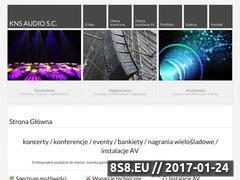 Miniaturka domeny www.knsaudio.pl