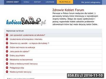 Zrzut strony Zdrowie kobiety forum