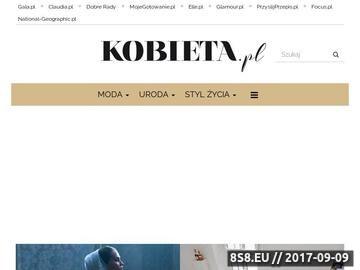 Zrzut strony Kobieta, moda, uroda, zdrowie kobiety, horoskop - Kobieta.pl