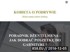 Miniaturka domeny kobietaopodrywie.pl