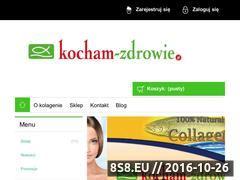 Miniaturka kocham-zdrowie.pl (Kolagen oraz collagen)