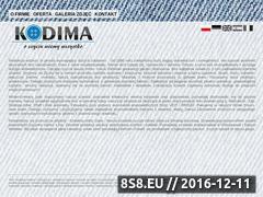 Miniaturka domeny www.kodima.pl