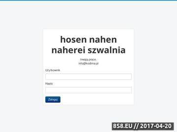 Zrzut strony Kodima Sp. z.o.o. Poland, Polska, Szwalnia, Szycie , Koszule na miarę