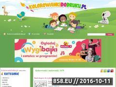 Miniaturka kolorowankidodruku.pl (Kolorowanki do wydruku dla dzieci)