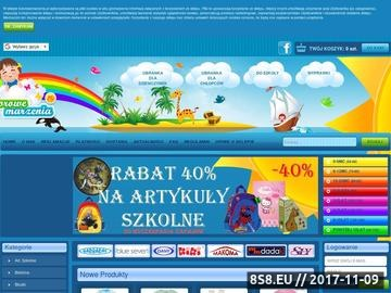 Zrzut strony Artykuły dla dzieci - Kolorowe Marzenia