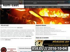 Miniaturka domeny www.kom-cast.pl