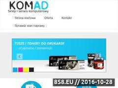 Miniaturka komad-kalwaria.pl (Naprawa: komputerów, laptopów, drukarek i innych)