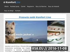 Miniaturka domeny komfort-line.pl