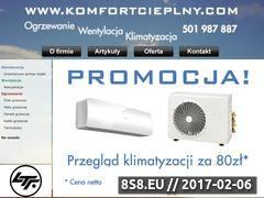 Miniaturka domeny komfortcieplny.com
