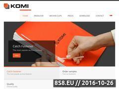 Miniaturka domeny www.komi.pl