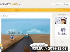 Miniaturka komiksland.pl (Komiks Land)