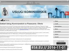 Miniaturka domeny www.kominiarz.biz.pl