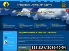 Miniaturka domeny www.kominiarz.olsztyn.pl