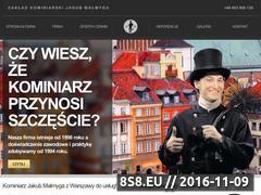 Miniaturka domeny kominiarz.warszawa.pl