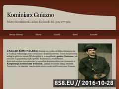 Miniaturka domeny kominiarzgniezno.pl