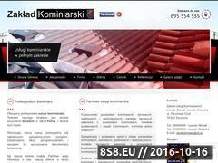 Miniaturka domeny kominiarzszczecin.pl
