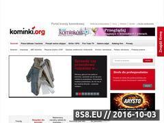 Miniaturka domeny www.kominki.org