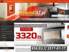 Miniaturka domeny www.kominkiaz.pl