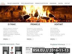 Miniaturka domeny www.kominkimyslowice.pl