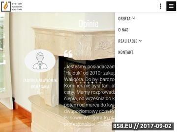 Zrzut strony Kominki