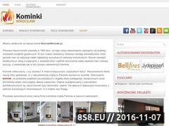 Miniaturka domeny kominkiwroclaw.pl