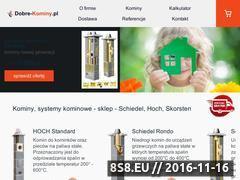 Miniaturka domeny www.kominy7.pl