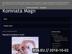 Miniaturka domeny komnata-magii.blogspot.com
