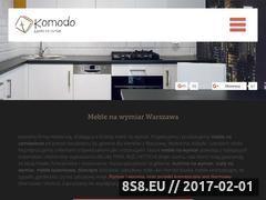 Miniaturka domeny www.komodo-meble.pl