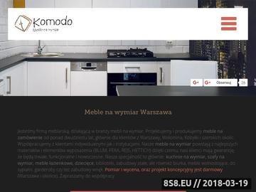 Zrzut strony Meble na wymiar Warszawa