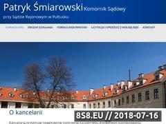 Miniaturka domeny komornik-pultusk.pl