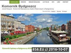 Miniaturka domeny komornikbydgoszcz.eu