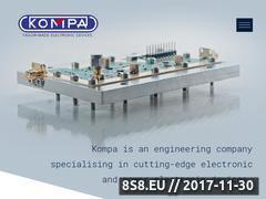 Miniaturka domeny www.kompa.eu