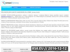 Miniaturka domeny kompasfinansowy.pl