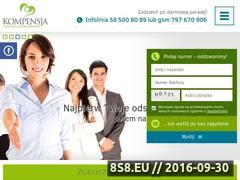 Miniaturka domeny www.kompensja.pl