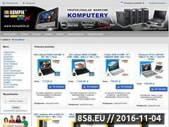 Miniaturka domeny www.kompik24.pl