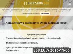 Miniaturka domeny kompleksbud.eu