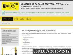 Miniaturka domeny www.komplex90.pl