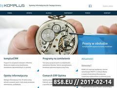 Miniaturka domeny komplus.pl