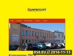 Miniaturka domeny www.kompresjan.com.pl