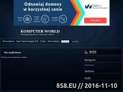 Miniaturka domeny www.komputer-world.prv.pl