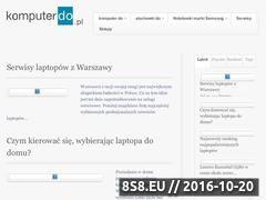 Miniaturka domeny www.komputerdo.pl