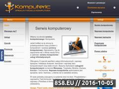 Miniaturka domeny www.komputeric.pl